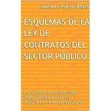 Esquemas de la Ley de Contratos del Sector Público: Ley 9/2017 de Contratos del Sector Público tras la Ley 3/2020 (vs. 9 de 19/09/2020)