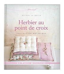 HERBIER AU POINT DE CROIX INSPIRATION BOTANIQUE