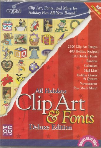 All Holiday Clipart & Fonts