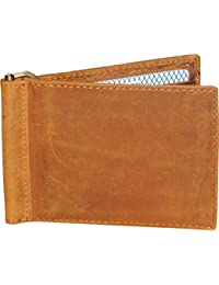 Style98 Leather ATM Credit Card Holder Cum Money Clip Wallet