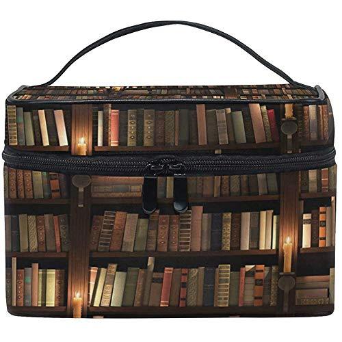 Borsa per trucco grande Organizzatore Libreria Scaffale