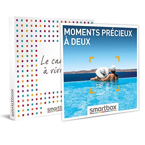 SMARTBOX - Coffret cadeau - Moments précieux à deux - idée cadeau - 1 séjour ou 1...