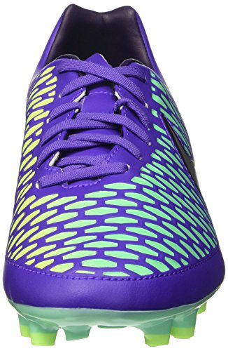 Nike Magista Onda Fg, Chaussures de Football Entrainement Homme Hyper Grape/Purple Dynasty/Green Glow/Metallic Silver