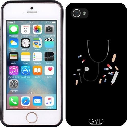 Custodia in silicone per Iphone 5/5S - Attrezzature Medici by