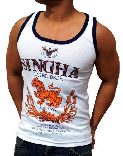 singha-beer-canotta-tank-top-maglietta-taglia-l