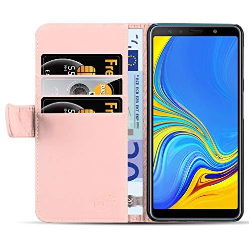Se trata de una funda autentica de JAMMYLIZARD con garantía JAMMYLIZARD de por vida. Funda completamente probada y compatible con Samsung Galaxy A7 2018. Se compone de cuero de PU durable que ofrece practicidad suprema con un interior de micro-fibra ...