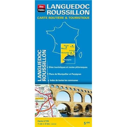 Languedoc Roussillon : 1/200 000