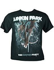 LINKIN PARK Herren T-Shirt Schwarz The Hunting Party Extra Large Size XL