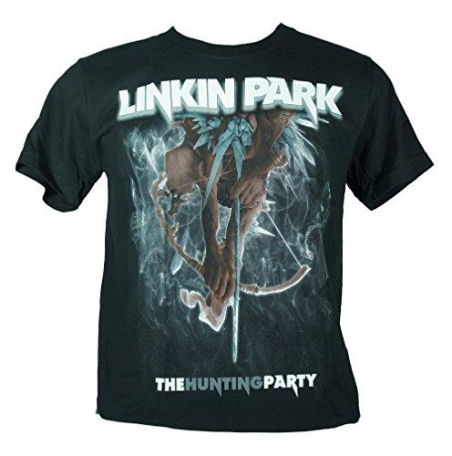 Linkin Park-Maglietta da uomo nero The Hunting Party Medium Size M