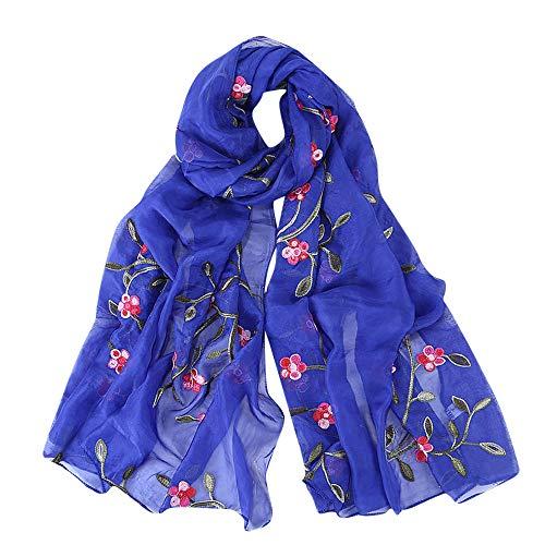 SUCES Damen Schal Schick Muster für Frühling & Sommer Frauen Schals Gedruckt Chiffon Schal Hijab Wrap Tücher Stirnband Muslim Hijabs Schal Stola Halstuch