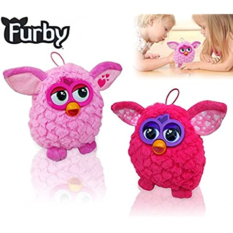 Muñeco FURBY rosa y fucsia - Juguete infantil para niño y niña mws2047 (ROSA)