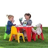 Biemme Set Tavolino & 4 Seggioline colorate