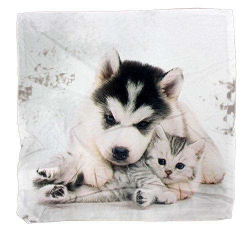 Katze Hund wendbar Dekorative Kissenhülle Kissenbezug Fall Home Decor 40 x 40 cm
