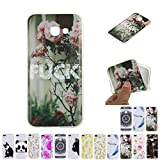 V-Ted Coque Samsung Galaxy A3 2016 Rose Fuck Silicone Ultra Fine Mince Bumper Housse...