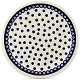 Polish Pottery Boleslawiec Plate, Dinner Plate, 27.2cm in POLKA pattern