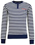 Derbe Hamburg Homer Herren Sweatshirt, Größe:S, Derbe Hamburg :Homer - Navy