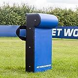Net World Sports Boucliers de Rugby | Sac de Plaquage pour Entraînement (Variété de Tailles) (Bouclier avec Rembourrage Supérieure, Junior)