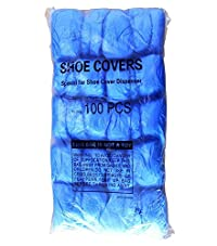 Cleaing Blue Disposable Boot & Shoe Covers Machine-made , 1000 Piece (Standard)