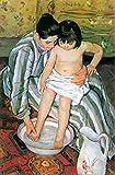 Das Museum Outlet–Der Badewanne von Cassatt–Leinwand Print Online kaufen (152,4x 203,2cm)