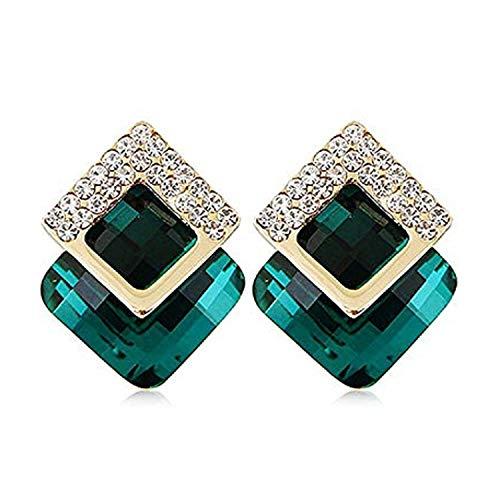 Sukkhi Cubic Zirconia Stud Earrings for Women (Pink)(E81114)