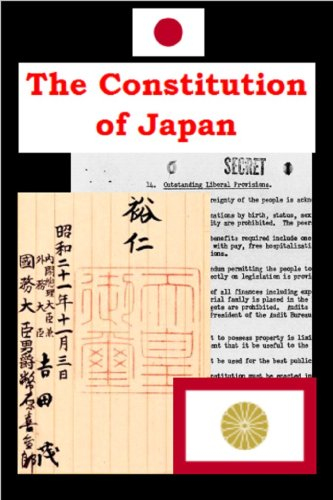 Constitution of Japan (English Edition) Monarch Japan