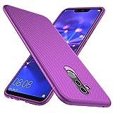 GeeMai Huawei Mate 20 Lite Hülle, [lila Soft Hülle] Ultra Thin Silikon Schutzhülle Tasche Soft TPU Hüllen Handyhülle für Huawei Mate 20 Lite Smartphone