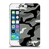 Head Case Designs Night Shift Militärische Tarnfarben Soft Gel Hülle für iPhone 5 iPhone 5s iPhone SE
