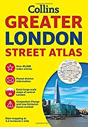 Collins Greater London Street Atlas: Comprehensive Edition by Collins Maps (2013-08-01)