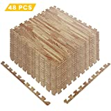 Decent interlocking foam mats with well-packaged,easy to lock together with great soft and easily cut.Very easy to fit and have the added advantage of a flat edge section which keeps a nice straight line with the wall.  Each come with two edges you c...