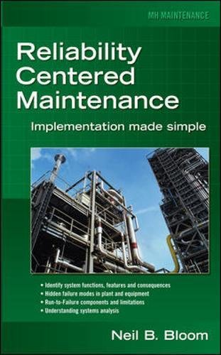 Reliability Centered Maintenance (RCM): Implementation Made Simple por Neil Bloom