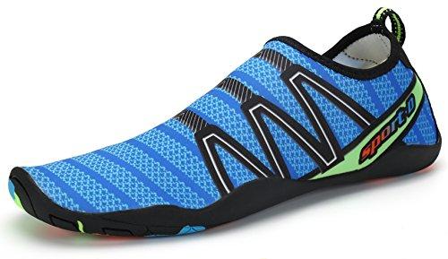 Zapatos de Agua Escarpines Zapatillas Calzado EN Playa Arena Rocas Mar Río Piscina Deporte Buceo Surf natación Pour Mujer Hombre Niños