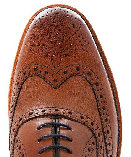 Oliver Sweeney Shoe Bidford in Dark Tan brown