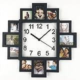 Timelike DIY Rahmen Uhr, DIY Wanduhr Modernes Design DIY Wanduhr Kunststoff Bilderrahmen Art Bilder Uhr Einzigartig Klok Home Decor–Stellen Sie Ihre Eigenen Collage Uhr