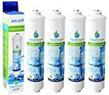 4x AquaHouse UIFS Filtre d'eau compatible pour réfrigérateur - Best Reviews Guide