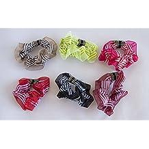 Pack de 6 coleteros de tela de rayas. ENVÍO GRATIS 72h 244c2bacc656