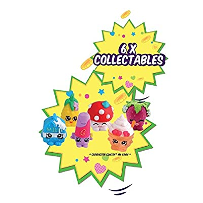 Girls Official Shopkins New Bicycle Adjustable Safety Helmet And 6 Collectables by MV Sports & Leisure