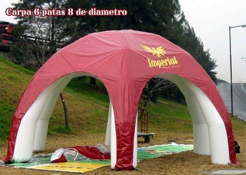 Tucuman Aventura - Carpas hinchables 6 patas