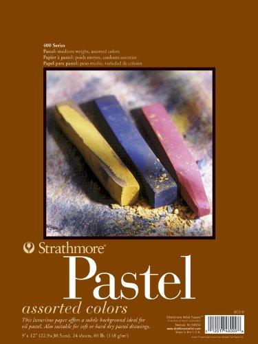Strathmore Artist Papier 400Series Pastellpapier, 22,9°x°30,5°cm