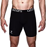 Best Mens Compression Shorts - Azani Original Series Compression Performance Underwear - Black Review
