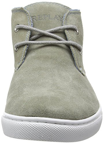 Replay Tarpon, Baskets Basses homme Gris - Grau (GREY 28)