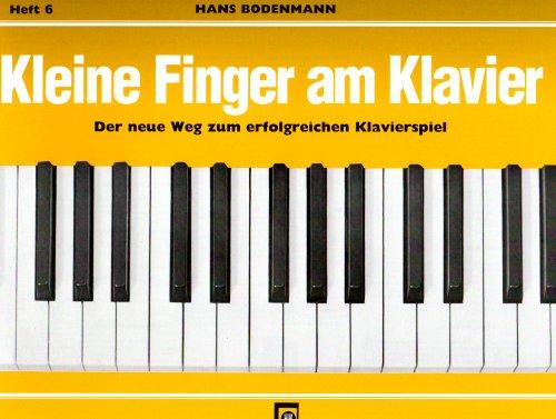 Kleine Finger am Klavier, H.6