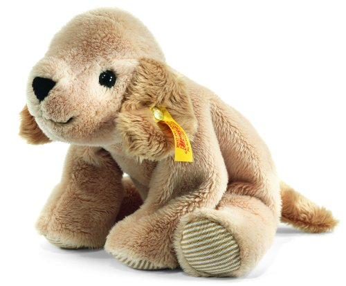 Steiff 281297 - Lumpi Golden Retriever liegend, 16 cm, beige