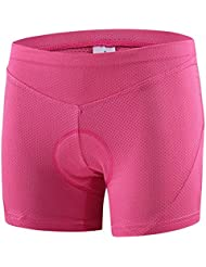 BRG315 Cyclisme Sous Shorts Pantalons cyclistes pour femme Sous-vêtements Sous-vêtements Shorts / Sous Shorts Shorts rembourrés / Bas de polyesterQuick Dry Anatomic , m
