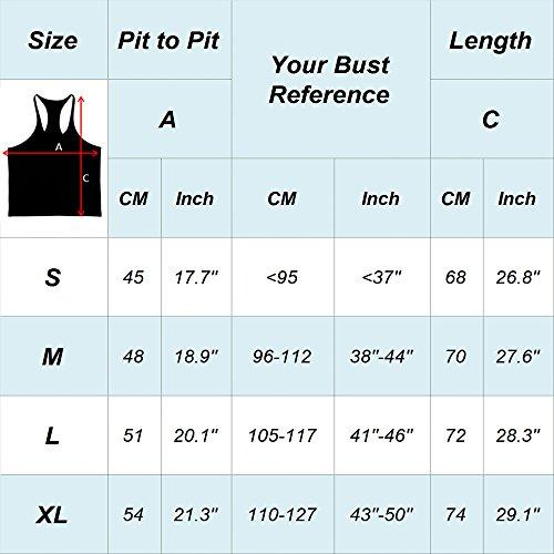 Musclealive Herren Bodybuilding Zyzz Mode Tank Tops Baumwolle 01 Yellow