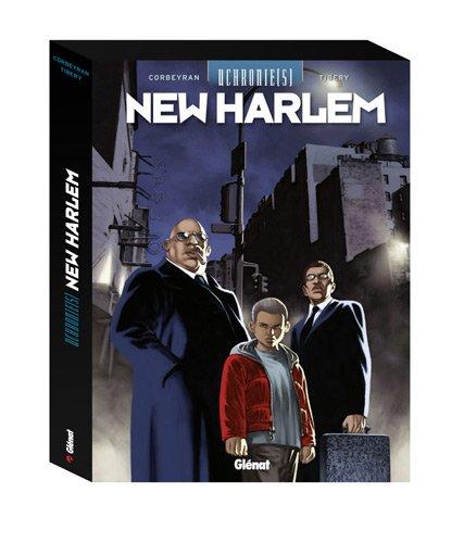 Uchronie(s) : New Harlem : Coffret 3 volumes : Tome 1, Rapt ; Tome 2, Rétro-cognition ; Tome 3, Révisionnisme