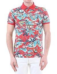 b9ae392c3480 Ralph Lauren Polo imprimé Manches Courtes Rouge Multicolor