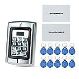 OBO HANDS wasserdichte Zugangskontrolle Maschine Metall RFID 125KHz Kartenleser für elektrische Türverriegelung System W3 Unterstützung 2000 Benutzer