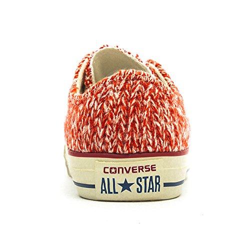 Converse, All Star OX donna Rosso (Firebrick / Egret)