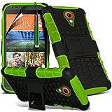 Green - HTC Desire 320 Zweischichtige starke, stoßfeste