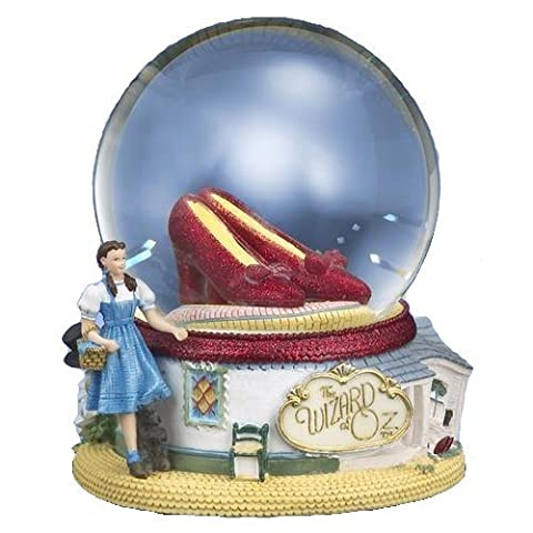 The Wizard of Oz Ruby Slippers Water Globe by San Francisco Music Box